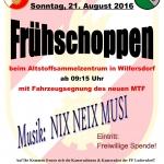 Frühschoppen FF Ludersdorf mit Fahrzeugsegnung