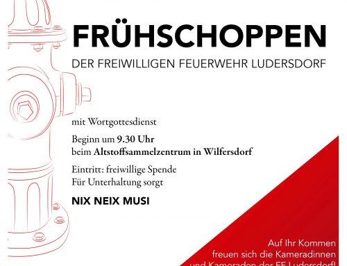 Frühschoppen der FF Ludersdorf