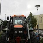 Wir besuchen den Traktor…