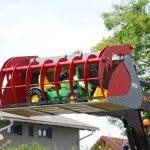 Spielzeugtraktor für den Kindergarten