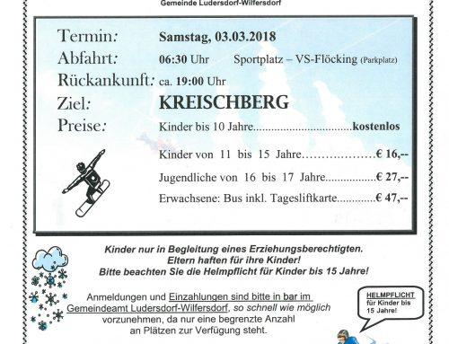 18. Gemeindeschitag am 03.03.2018