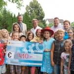 Spendenübergabe an die Steirische Krebshilfe und an die Leukämiehilfe Steiermark