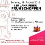 FF Frühschoppen am 19.08.2018