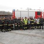 Feuerwehrübung im Kindergarten und der Krippe