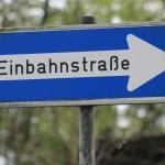 Neue Einbahnregelungen in Ludersdorf und Flöcking
