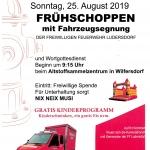 Frühschoppen mit Fahrzeugsegnung