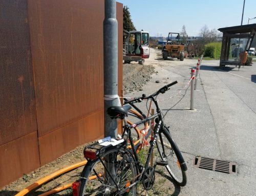 Fahrrad abholbereit