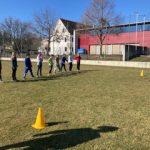 Die 4b Klasse lernt Mathematik im Freien!