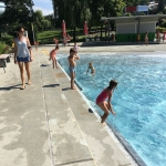 Schwimm-Sporttage der VS Flöcking im Wellenbad Gleisdorf