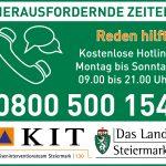 psychosoziale Hotline KIT-Land Steiermark