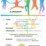 Sport-Kindercamps 2019