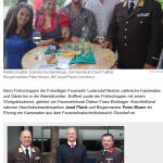 Frühschoppen wurde zu Spätschoppen – Kleine Zeitung – 27.08 2015