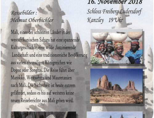 Marokko Mauratien Mali, 16.11.2018