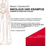 Nikolaus und Krampus 5.12.2018