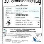 20. Schitag der Gemeinde Ludersdorf-Wilfersdorf